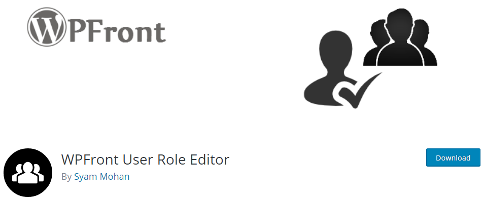 WordPress User Roles plugin