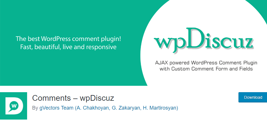 Disqus WordPress plugin