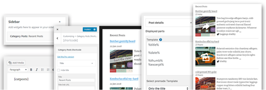 Category Posts Widget - WordPress Category Plugin