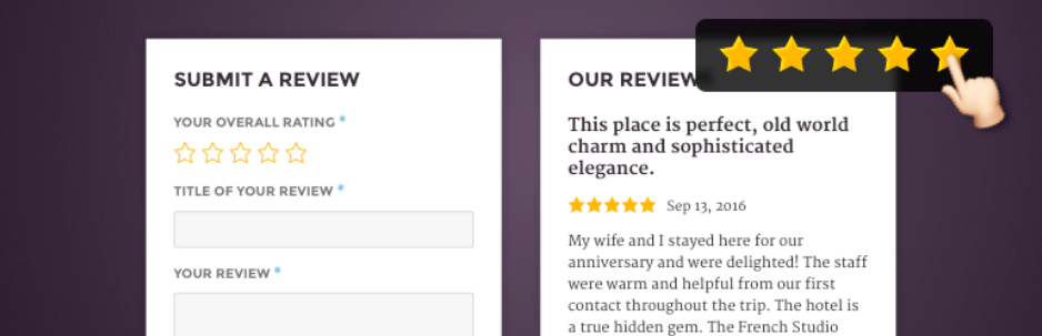 Site Reviews - Wordpress Review Plugin