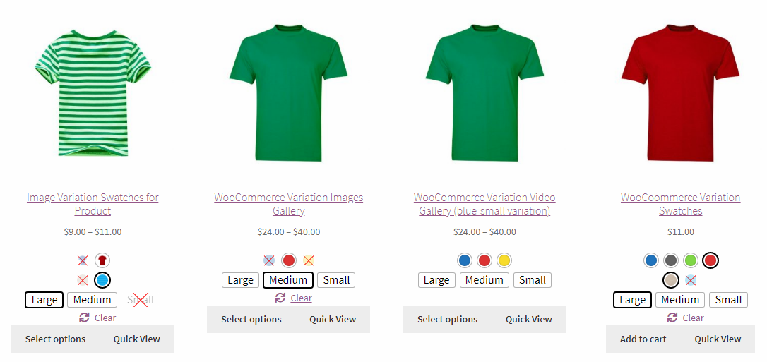 Woocommerce variation swatches plugin pro Review