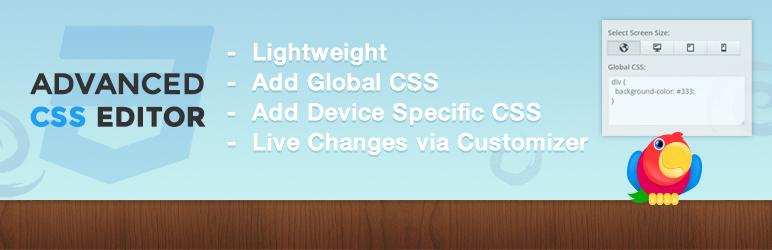Advanced CSS Editor