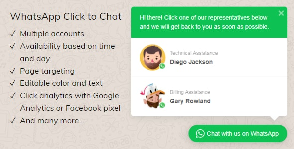 wordpress whatsapp button 2