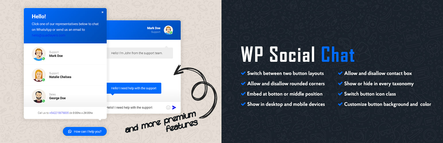 wordpress whatsapp button 4