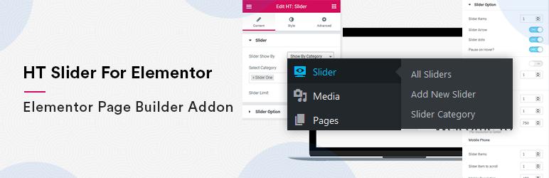 Collection Of 9 Elementor Slider Plugin 2021