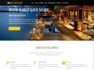 Top 15 Best Free WordPress Hotel Theme In 2021