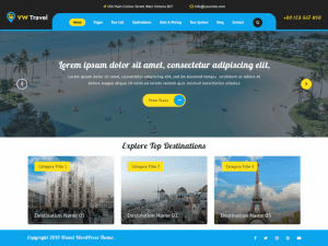 Top 16 WordPress Travel Theme In 2021