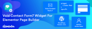 Void Contact Form7 Widget For Elementor Page Builder