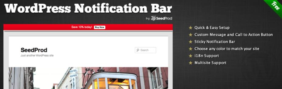 Top 10 Must-have WordPress Notification Bar Plugin In 2020 ...