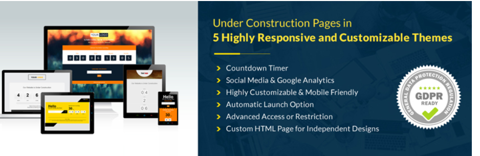 Top Awesome WordPress Under Construction Plugin In 2021