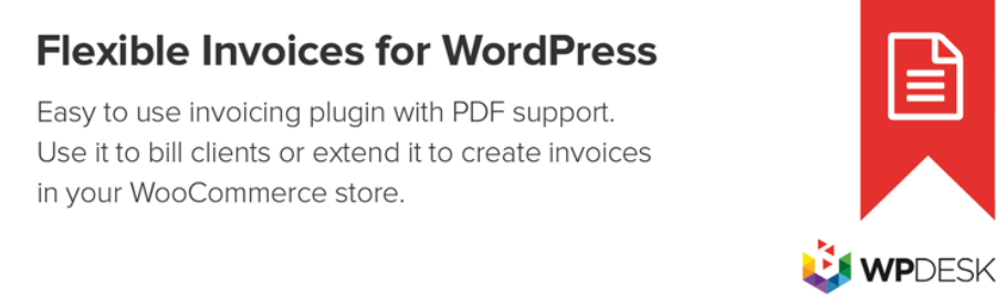 Flexible PDF Invoices for WordPress