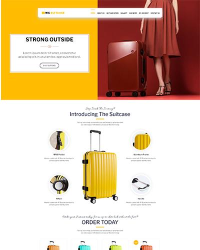 WS Suitcase Free WordPress theme
