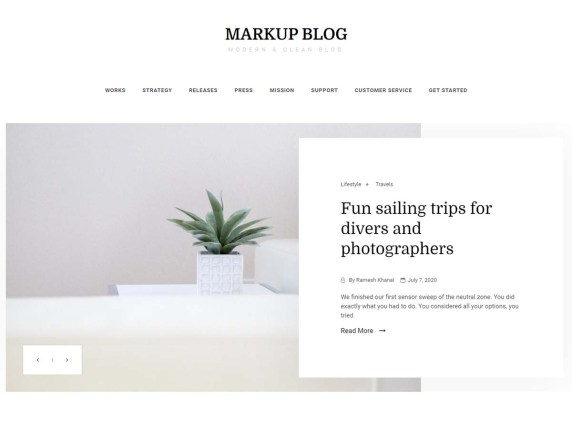 Markup Blog