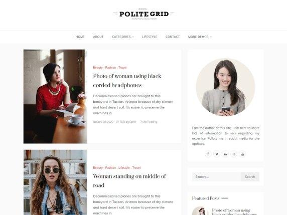 Polite Grid