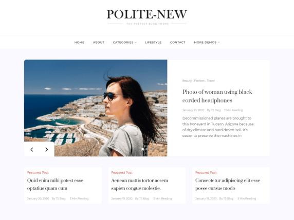 Polite New