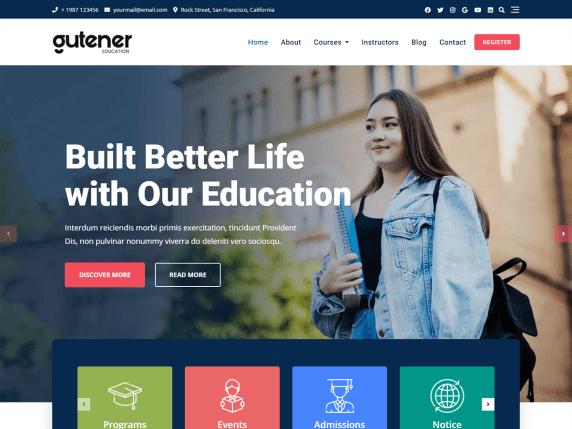 Gutener Education
