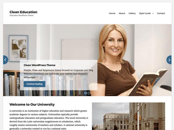 Clean Education
