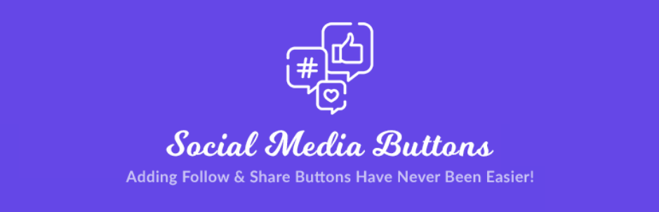 Superb Social Media Share Buttons and Follow Buttons