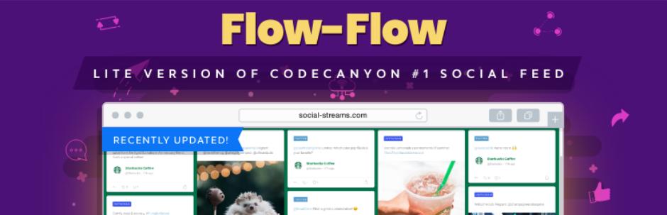 Flow-Flow Social Feed Stream