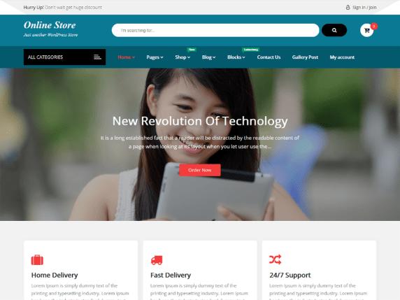 Online eStore