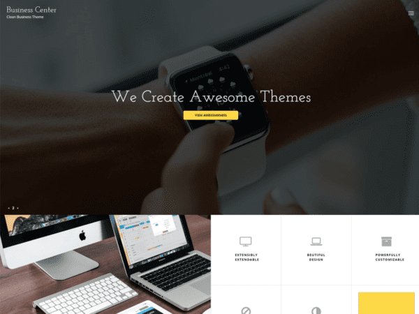 Free Business Center Wordpress theme