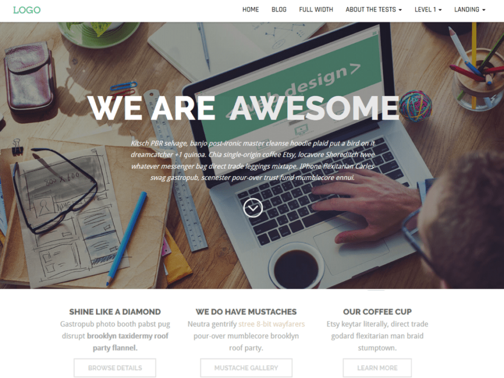 Free Business Press Wordpress Theme