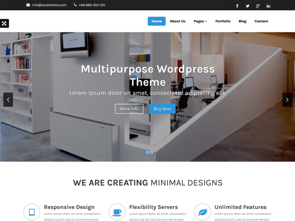 Free Esol WordPress theme