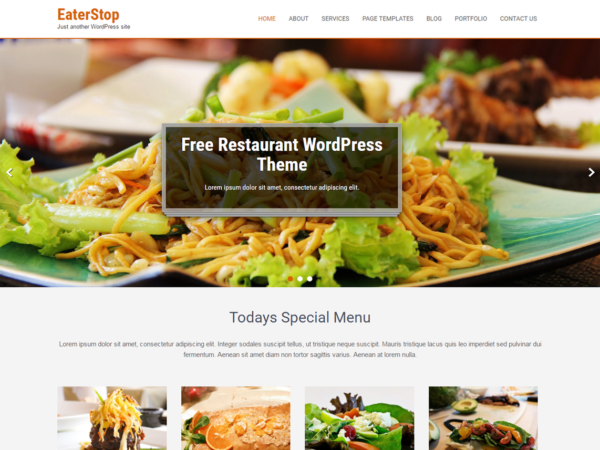 Free Eaterstop Lite Wordpress theme