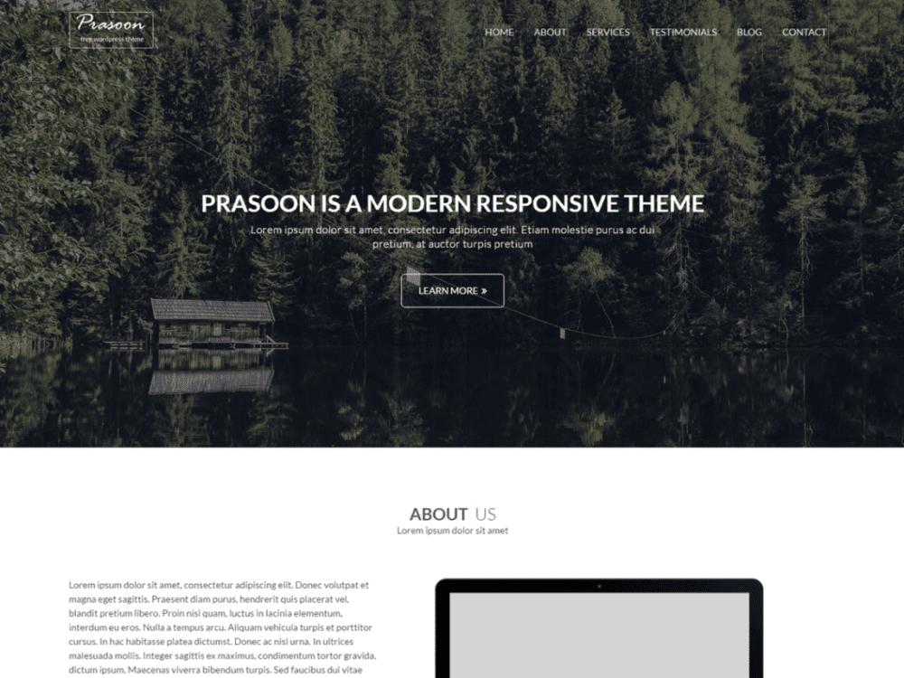Free Prasoon Wordpress theme