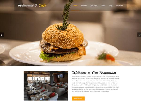 Free Restaurant Lite Wordpress theme