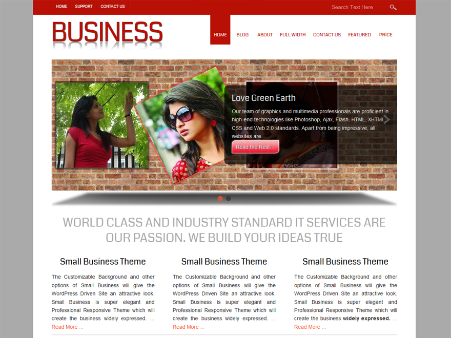 Download Free Small Business Wordpress theme - JustFreeWPThemes