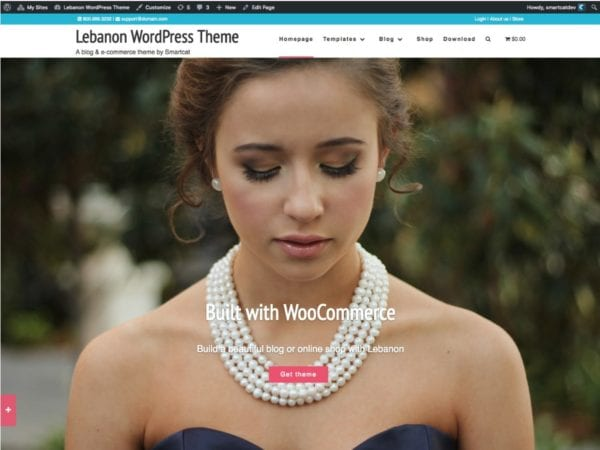 Free Lebanon Wordpress Theme