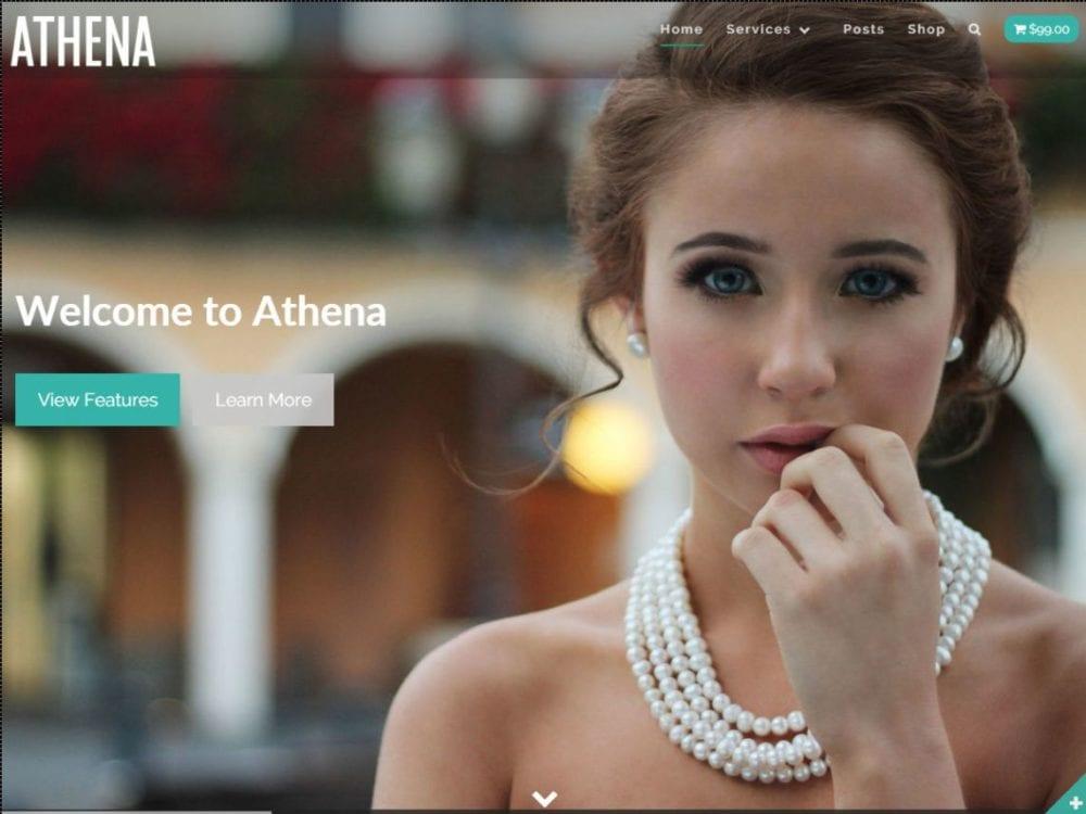 Free Athena Wordpress Theme