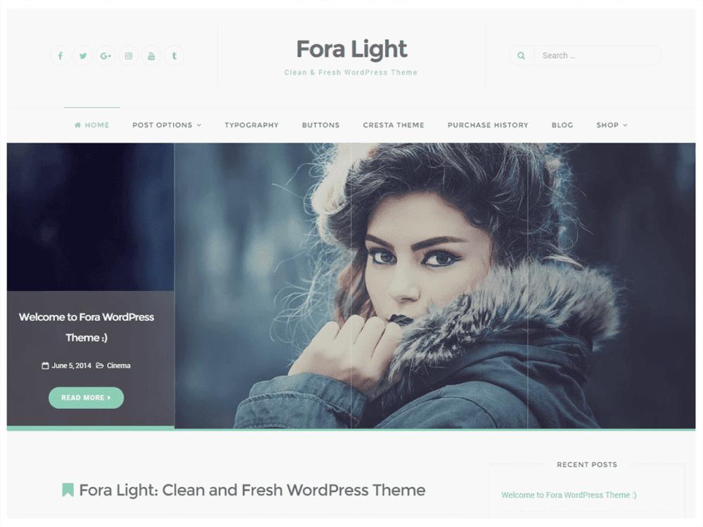 Free Fora Wordpress Theme