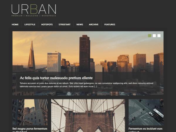 Free MH UrbanMag Wordpress Theme