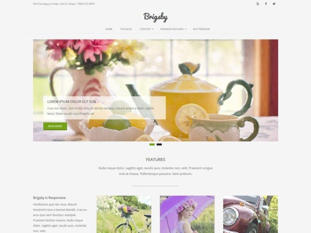 Free Brigsby Wordpress Theme