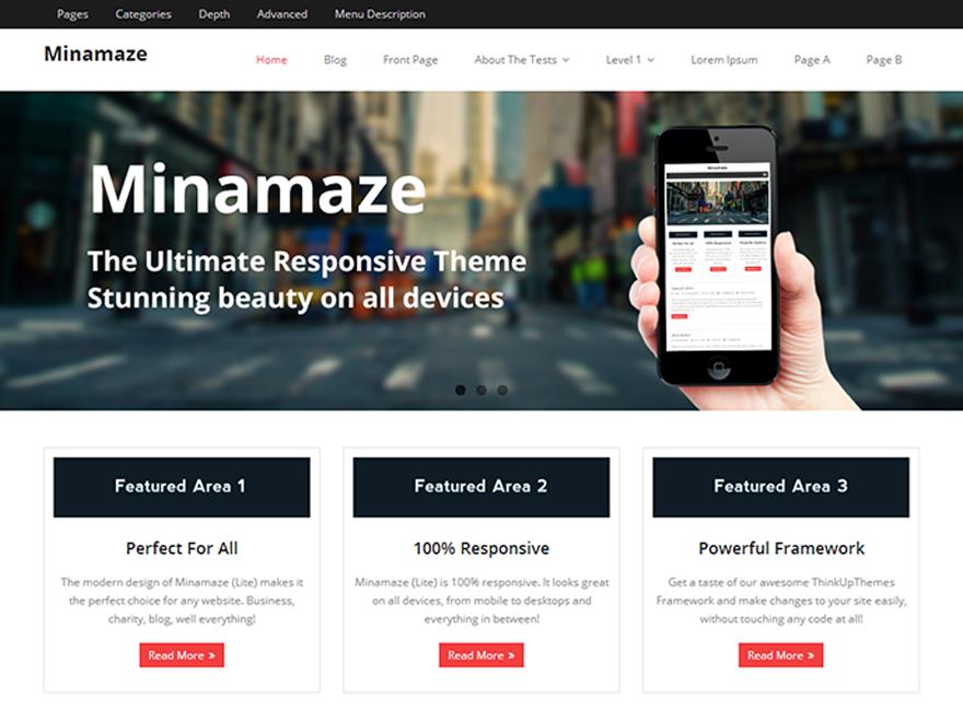 Free Minamaze Wordpress Theme