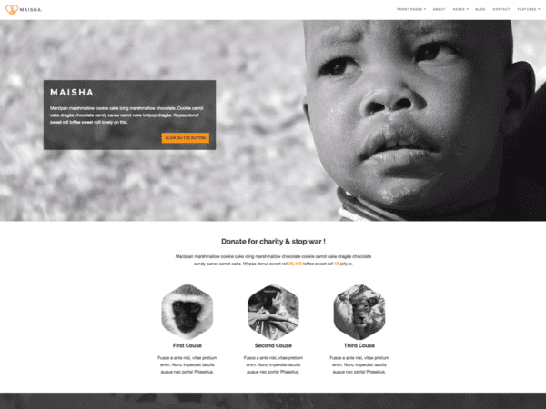 Free Maisha Lite Wordpress Theme