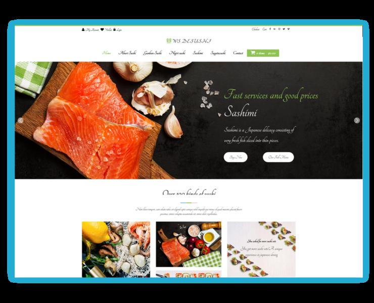Download Free WS Desushi Wordpress theme - JustFreeWPThemes