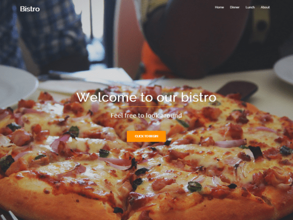 Free Bistro Wordpress theme