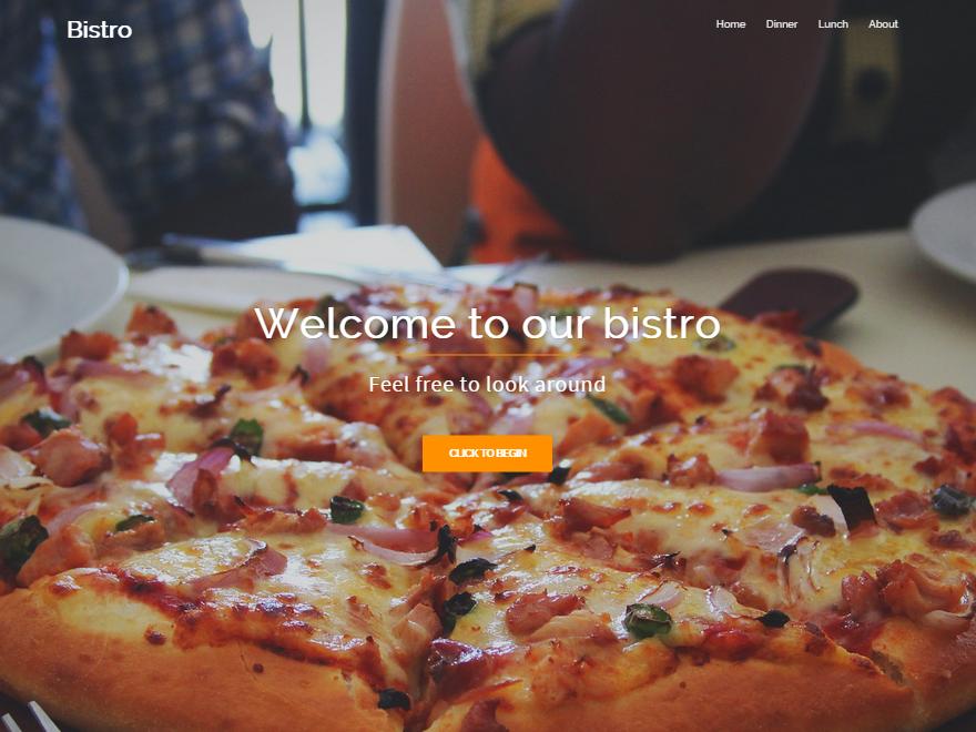 Free Bistro Wordpress theme