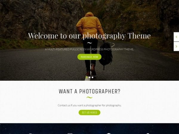 Free EightPhoto Wordpress theme