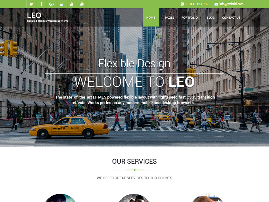 download free leo wordpress theme  justfreewpthemes