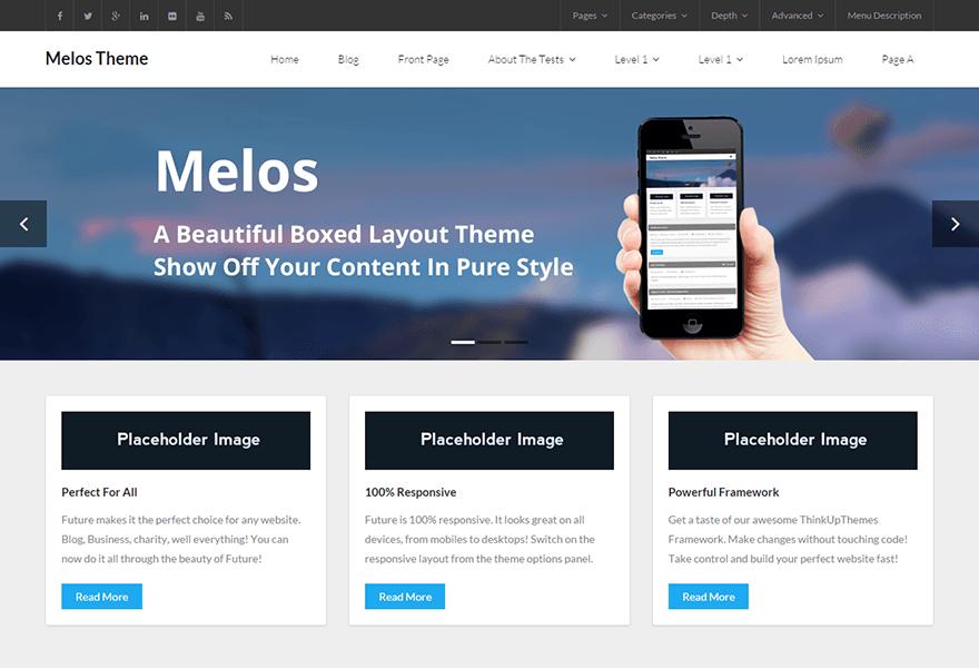 Download Free Melos Wordpress theme - JustFreeWPThemes