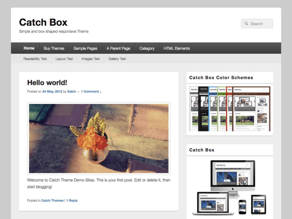 Download Free Catch Box Pro WordPress theme - JustFreeWPThemes