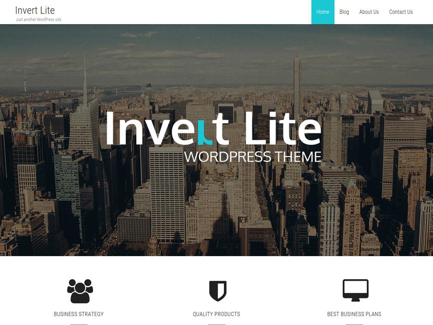 Download free invert lite wordpress theme justfreewpthemes free invert lite wordpress theme wajeb Gallery