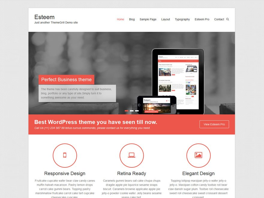 Download free esteem wordpress theme justfreewpthemes free esteem wordpress theme cheaphphosting