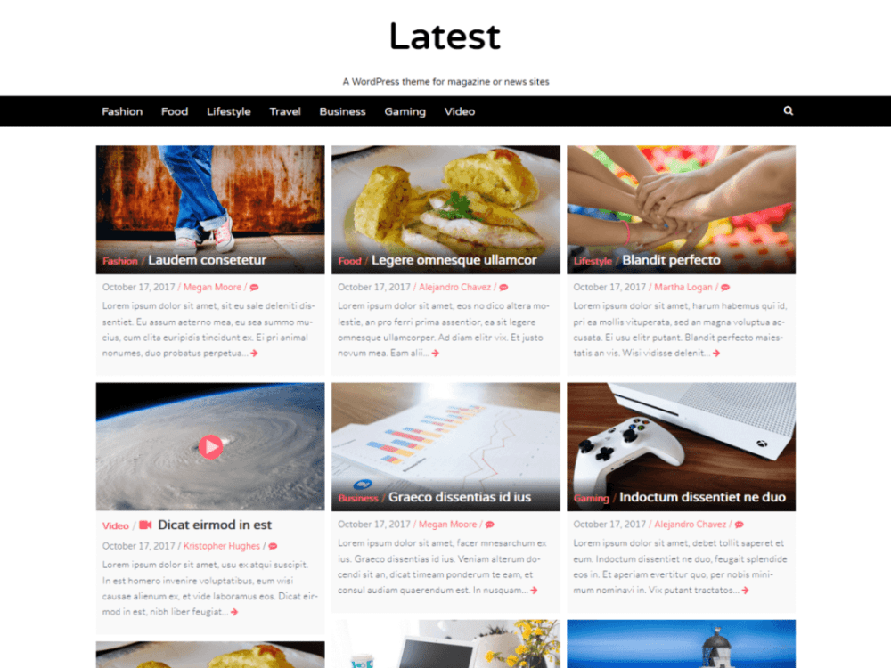 Best WordPress Themes For Food Blogs Free