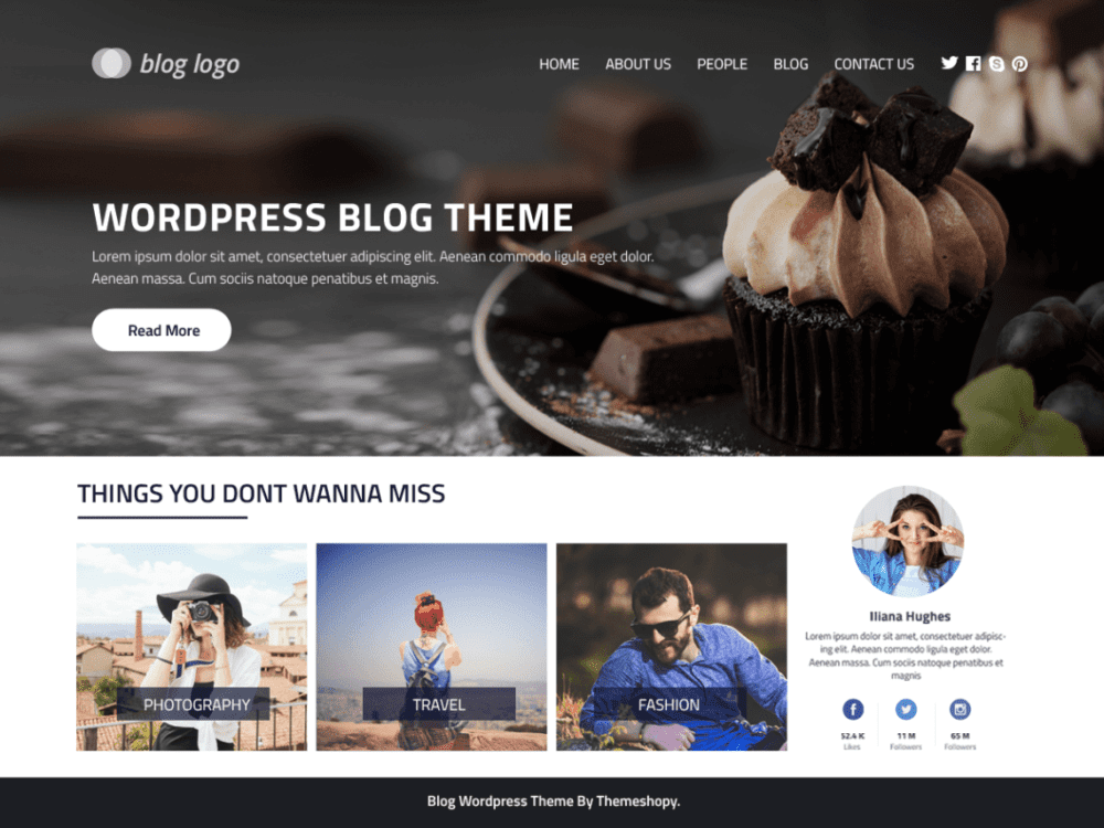 Free Perfect Blog Wordpress Theme