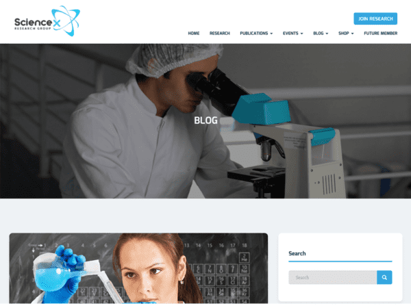 Free Sciencex Lite Wordpress theme